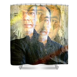Shower Curtain featuring the photograph Multiverse by Prakash Ghai