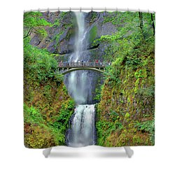 Multnomah Falls 2  Shower Curtain