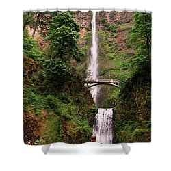 Multnomah Falls, Columbia River Gorge, Or Shower Curtain