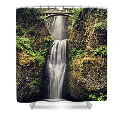 Multnomah Falls Lower Shower Curtain