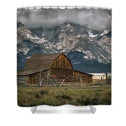 Multon Barn Shower Curtain