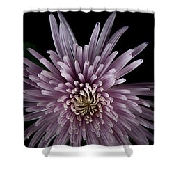 Shower Curtain featuring the photograph Mum by Eric Christopher Jackson