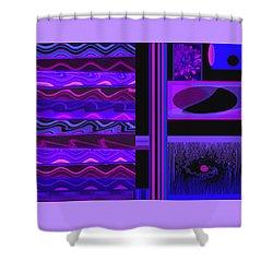 Mum Series - Abstract - Purple Haze Shower Curtain by Brooks Garten Hauschild
