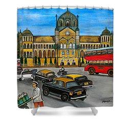 Mumbai Meri Jaan Shower Curtain