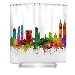 Mumbai Skyline India Bombay Shower Curtain