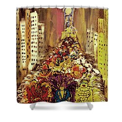 Mummers Shower Curtain