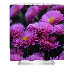 Mums The Word Shower Curtain by John S