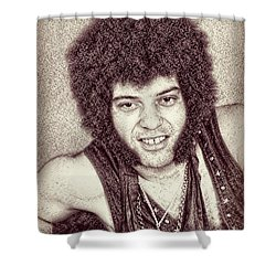 Mungo Jerry Portrait - Drawing Shower Curtain