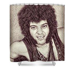 Mungo Jerry Portrait - Drawing Shower Curtain