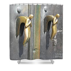 Munich Angels Shower Curtain