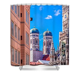 Munich Center Shower Curtain