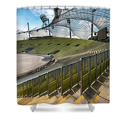 Munich - Olympic Stadium Shower Curtain
