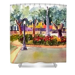Munn Park, Lakeland, Fl Shower Curtain