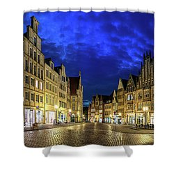 Munster Prinzipalmarkt Shower Curtain