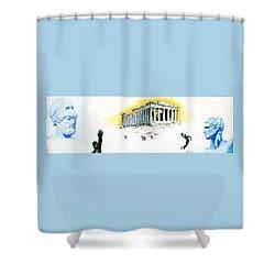 Mural Shower Curtain