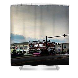 Murphy Morning Shower Curtain