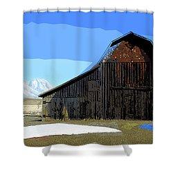 Murphy's Barn Shower Curtain