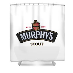 Murphys Irish Stout Shower Curtain