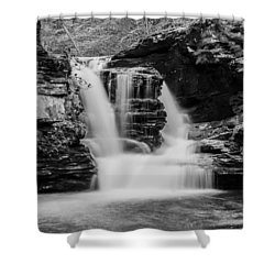 Murray Reynolds Falls - 8557 Shower Curtain by G L Sarti