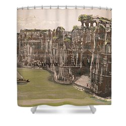 Murud Janjira Fort Shower Curtain