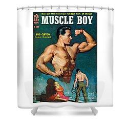 Muscle Boy Shower Curtain