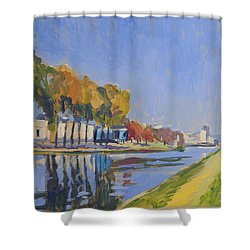 Musee La Boverie Liege Shower Curtain