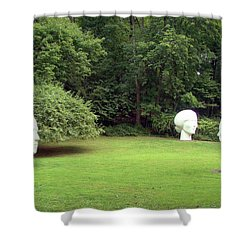 Shower Curtain featuring the photograph Muses by Betsy Zimmerli