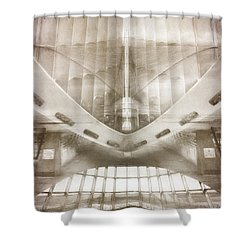 Museum Inside Out Shower Curtain