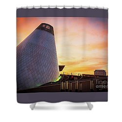 Museum Of Glass Tower#2 Shower Curtain