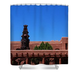 Museum Of Indian Arts And Culture Santa Fe Shower Curtain by Susanne Van Hulst