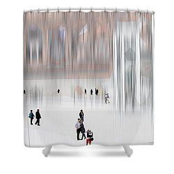Museum Of Nothing Shower Curtain