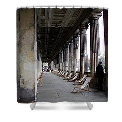 Museumsinsel Shower Curtain by Flavia Westerwelle
