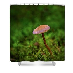 Mushflower Shower Curtain