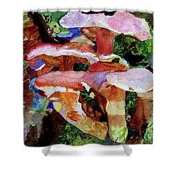 Mushroom Garden Shower Curtain
