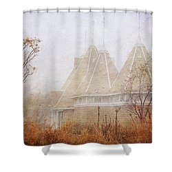 Shower Curtain featuring the photograph Music And Fog by Heidi Hermes