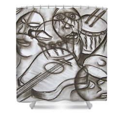 Music Dreams And Illusions Shower Curtain