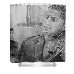 Music For The Soul Shower Curtain