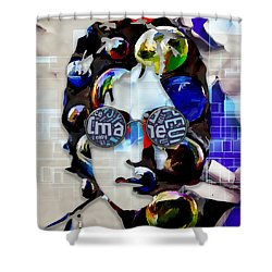 Music Icon John Lennon Shower Curtain