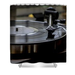 Music Maker Shower Curtain by Stephen Anderson
