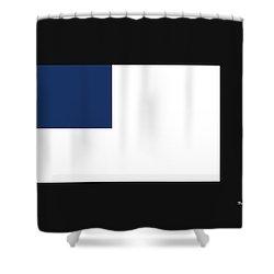 Shower Curtain featuring the digital art Music Notes 14 by David Bridburg
