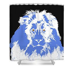 Shower Curtain featuring the digital art Music Notes 15 by David Bridburg