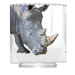 Shower Curtain featuring the digital art Music Notes 24 by David Bridburg