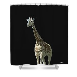 Shower Curtain featuring the digital art Music Notes 32 by David Bridburg