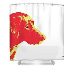 Shower Curtain featuring the digital art Music Notes 6 by David Bridburg
