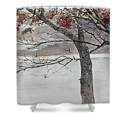 Music Of The North Wind Shower Curtain