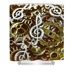Music Production Shower Curtain