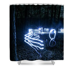 Music Woods Shower Curtain