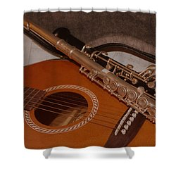 Musical Family Shower Curtain