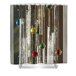 Musical Marbles Shower Curtain
