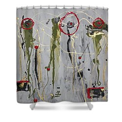 Musical Strings Shower Curtain